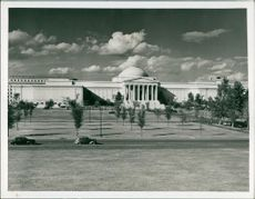 View of National Gallery of Art, Washington U.S.A.