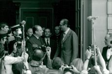 Jacques Chirac vid Arch of Triumph
