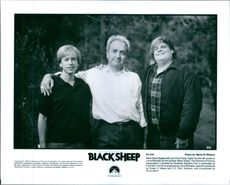 Stars David Spade and Chris Farley reunite with producer Lorne Michaels for the comedy Black Sheep.