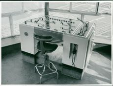 Control Panel in Control Tower of Temple Mills