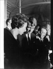"Robert Francis ""Bobby"" Kennedy talking."