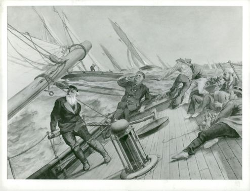 Maritime Museum: Illustration by A. Cronstrand