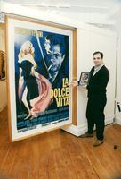 Exhibition of movie posters