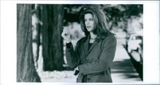 Kirstie Alley in the film Village of the Damned, 1995.