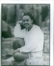 Karan Ashley in the film Mighty Morphin Power Rangers: The Movie, 1995.