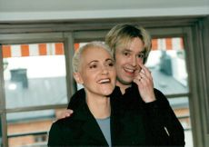 Marie Fredriksson and Per Gessle in Roxette