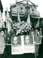 Aldo Moro is ensured after his death