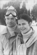 King Carl Gustaf, together with his wife, Queen Silvia, is enjoying the skiing holiday at Picturesque Alpine Resort