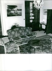 View of interiors of a house.