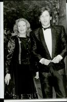 "Actress Hayley Mills together with musician Marcus Maclaine at the premiere of the movie ""Death to Meet"""
