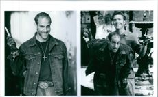 Stanley Tucci and Dennis Quaid in Undercover Blues.