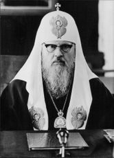 Portrait of Patriarch Pimen.