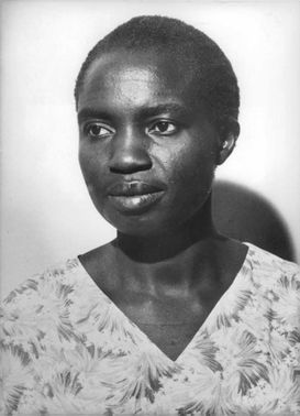 Mrs. P.I Abwao in a portrait.