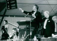The Jewels of the Duchess of WInsor being auctioned by Sotheby's in Geneva. 1987.