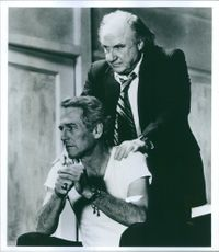"""Paul Newman and Jack Warden together in movie, """"The Verdict""""."""