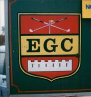 View of sign with EGC.