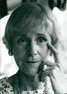 Portrait of U.S. personality: Mrs. Clare Boothe Luce, 1971.