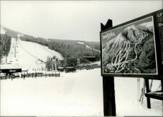 Nakiska, where the Alpine competitions will be decided during the Olympic Games in 1988.