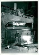 Electrostatic furnace at Halmstad's Ironworks