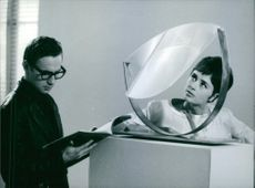 """A scene from the film """"For friendship's sake"""" casting by Harriet Andersson and George Fant, 1965."""