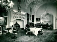 The Dining Room of Arbury Hall Nuneaton.