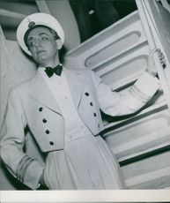 Einar Oscar Beyron as sailor.
