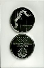 Olympic medal in the jumping for the 1972 Olympic Games