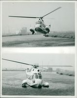 AMPHIBIOUS HELICOPTER MAKES BEIGIAN DEBUT.