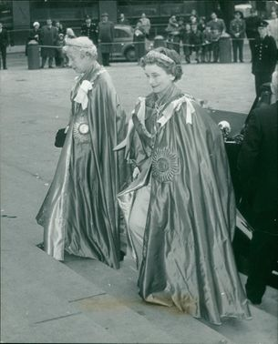 Princess Royal with the Duchess of Gloucester