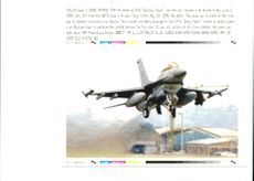 Aircraft: Military - American F16 Fighting Falcon