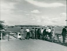 RAF Javelin jet fighter and transport aircraft during 1965's Zambia Crisis