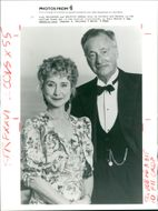Paul Eddington and felicity kendal.