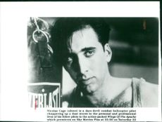 Actor Nicolas Cage as 'Jake' in 'Fire Birds'
