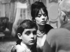 Pascale Petit with boy.
