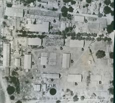 U.S. Bombers Wipe Out Japanese Cotton Mill.