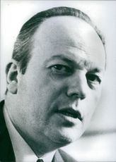 Portrait of french politician Pierre Sudreau, 1969.