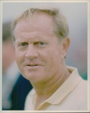 The American golfer Jack Nicklaus.