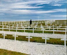 The Argentinian Cemetery in the Falkland Island.