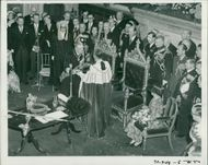 Sweden: State visit of King Gustav and Queen Louise