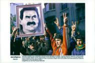France, demonstrations. Kurdish separatists demonstrate in front of the Greek Consulate in Marseille