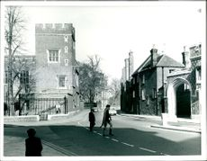 View of parts of the eton college.