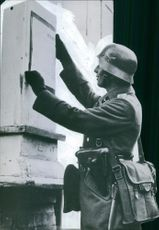 A soldier during the world war II in Denmark