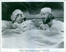 Scene of the movie Fiddler on the roof.