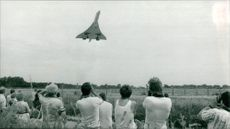 Concorde at RAF Coltishall