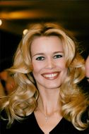 Claudia Schiffer at the Palace Hotel in Moscow