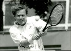 American tennis player Patrick McEnroe during French Open