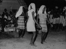 African Tribal are Dancing