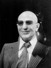 """Kojak"" on Madame Tussaud's wax cabinet"
