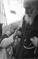 Pope Paul VI taking support.