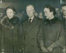 Princess Royal with the Duke of Windsor